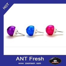 2pcs incense ball Shape Home Car Office Air Freshener Perfume Fragrance There are five kinds of flavor