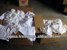 White Cotton Rags Small Size
