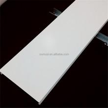 ISO9001 Anti-wind U shape strip ceiling, ceiling pvc cover strip, metal suspended ceiling