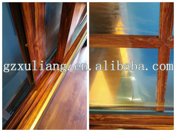 Aluminum Window Frame Material : Latest type aluminum frame material sliding windows with