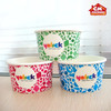 Paper disposable fruit salad cup