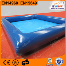 0.9 mm pvc tarpaulin large inflatable pool,best sell inflatable ball pit pool