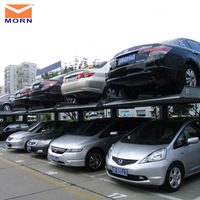2015 hot sale two post car parking elevator