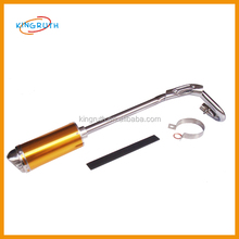 Hot selling motorcycle exhaust round end flexible pipe exhaust system