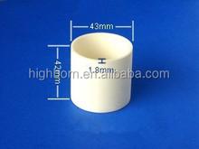 diam42*Height 43mm corundum crucible