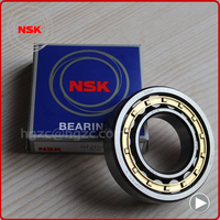 Low price chrome steel NSK bearing NU208EW cylindrical roller for motorcycles