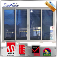commercial use Residential House with WERS panel tracks sliding glass doors