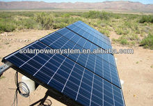 6000W easy installation and High quality off grid auto switch active solar system