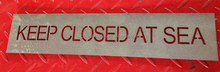 custom cut out sign/experience laser cutting service