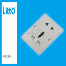 Hot Sale New Universal Wall Mounted Power Outlet Socket with Fuse