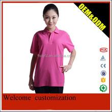 summer poly/cotton polo shirt