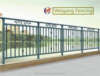 Metal balcony deck railing designs