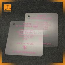 clothing cotton string logo design roland machine swing hang tags