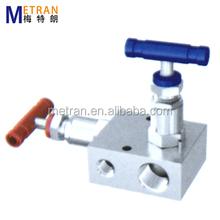 2 way valve manifold stainless steel instrument manifold