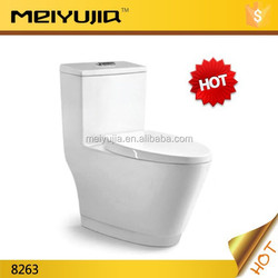 Saving water model bathroom siphoic one piece toilet