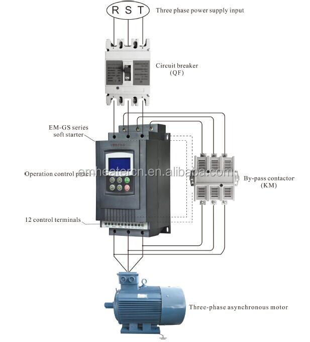 Triple Output Type 220v To 380v 660v 690v Electric Motor