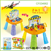 Lovely 2 in 1 Tools & Doctor Set Mini Clinic Workshop Kids Play Table with Storage