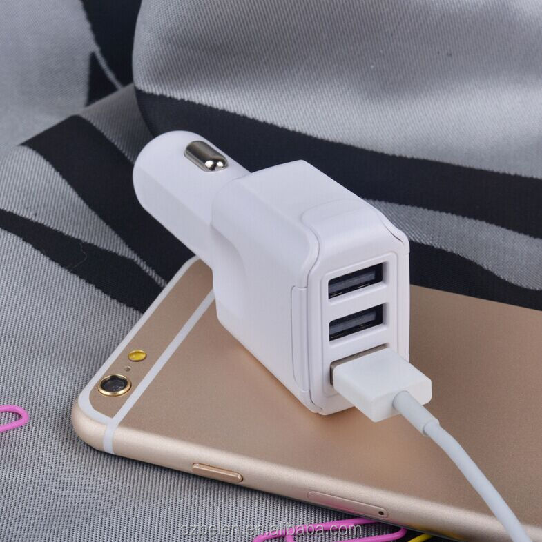 QC3.0 42W 3 USB charger-3