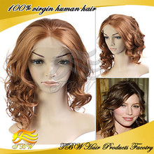 New Brazilian Human Hair Full Lace Wig Best Exported Products Fashion 2015