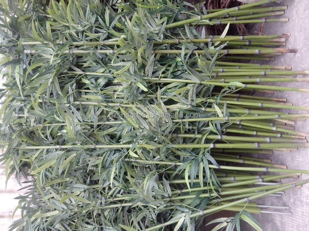 Sjnb17 pas cher en plastique bambou bambou artificielle for Plante decorative exterieure