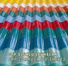 GRP (Glass Fiber Reinforced Polyester) Roof Sheets