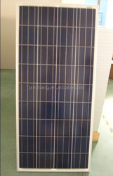 Factory direct price Cheap High Efficiency YB156P36-140W 12V Poly crystalline solar panel pv panel CE ISO90012000