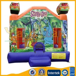 Yangjuan YJ1313 scooby doo jumpy inflatables, inflatable jumpies