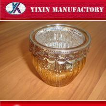 Regalo de boda de cristal del perfume waterpipes titular de la vela botella de vidrio