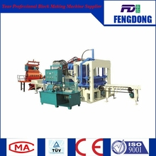 One Belt And One Road Special Machine Qtj4-20 Fully Automatic Color Brick Making Machine Production Line