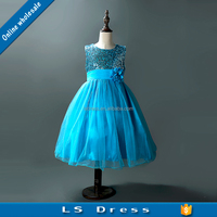 fashion children wedding frock fancy girls birthday party dresses