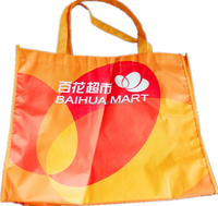 Customized top quality foldable shopping bag, foldable bag, foldable polyester shopping bag