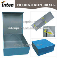 China supplier customized wholesale foldable packaging box