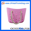 2015 new model lady silicone shoulder bag