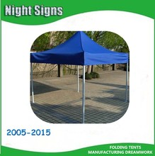 selling booth/commercial pop up/steel frame folding tents