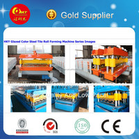 Roofing Sheet Glazed Tile and IBR Iron Sheet Roll Forming Making Machine