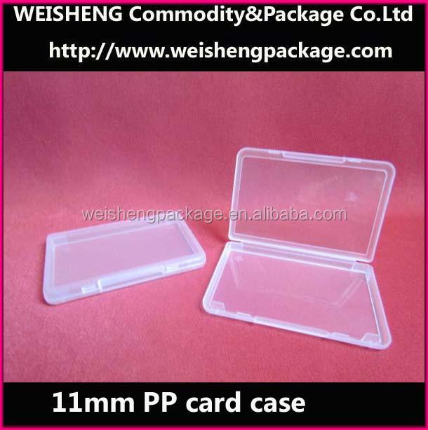 Plastic Wholesale Sim Card Holder/business Card Box/credit