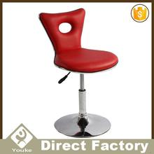 Reclining soft cow hide leather chair