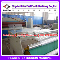 High speed plastic film punching machine