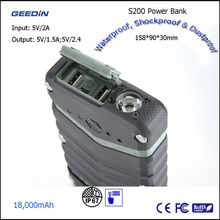 Unique portable and solar power bank for outdoor activity