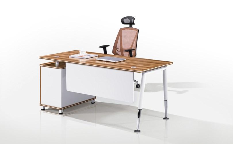 Simple moderna pequeño escritorio ejecutivo de oficina de melamina ...