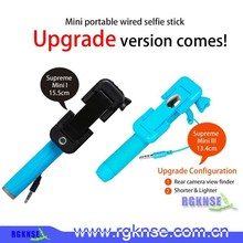2015 Original rgknse factory supply new products pen size mobile phone channel selfie stick