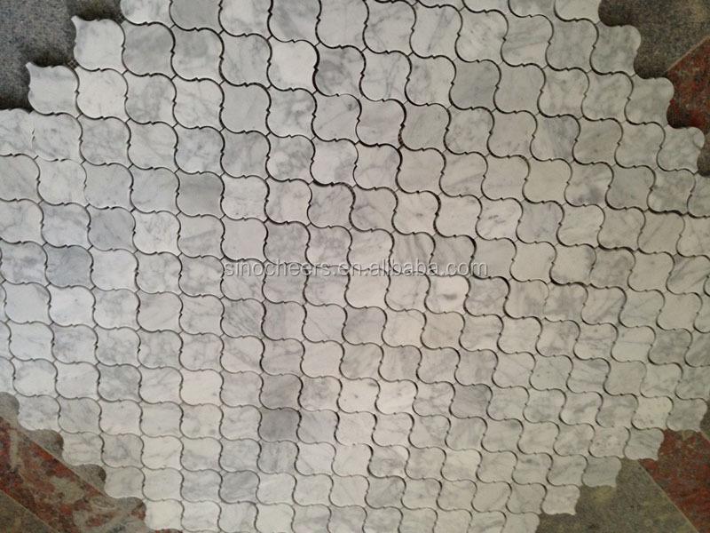 15x30mm thassos wit marmer moderne mini baksteen douche omliggende moza ek tegel moza eken - Kleur schilderij gang ingang ...