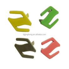 handbags/garment accessories custom color metal label metal plate