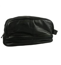 CT0176 Best Selling Mens PU Leather Toiletry Bag With Handle