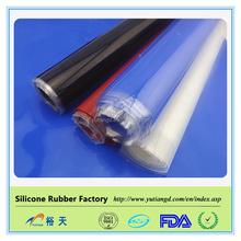 Food grade High tension silicone rubber sheet / flexible sheet