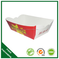 take away food tray box packaging food container potato chip food container