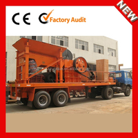 YDS New Hot Selling Stone small mobile jaw rock crusher