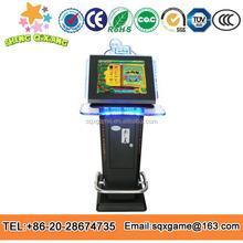 2014 de arcade de la diversión aceptador de billetes de lujo juego de bingo ranura de la máquina de casino juego de mesa