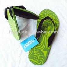 rubber sole foldable slipper flip flop 2012