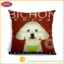 wholesaler dog natural linen heated pretty popular fashion cushion